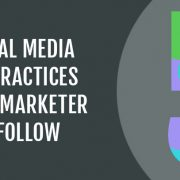 The 5 Best Social Media Practices for Marketers to Follow [Infographic]