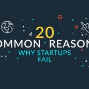 20 Common Reasons Why Startups Fail [INFOGRAPHIC]