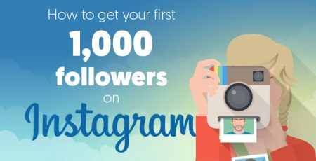 How to Get 1000 Instagram Followers in a Month [Infographic]