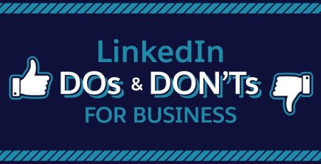 LinkedIn Dos and Don'ts for Businesses [Infographic]