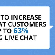 How to Increase Repeat Customers by 63% with the Use of Live Chat