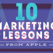 10 Marketing Lessons from Apple [Infographic]