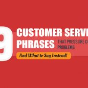 9 Things You Should Never Say to a Customer [Infographic]