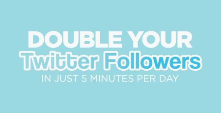 How to Double Your Twitter Followers [Infographic]