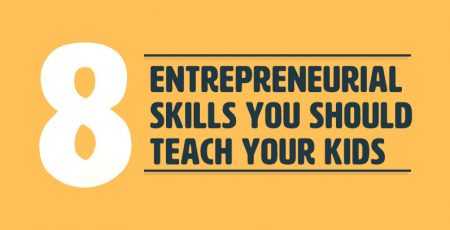 8 Entrepreneurial Skills to Teach Your Kid [Infographic]