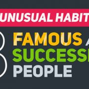 Unusual Habits of 8 Famous and Successful People [Infographic]
