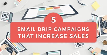 5 Email Drip Campaigns that Increase Sales [Infographic]