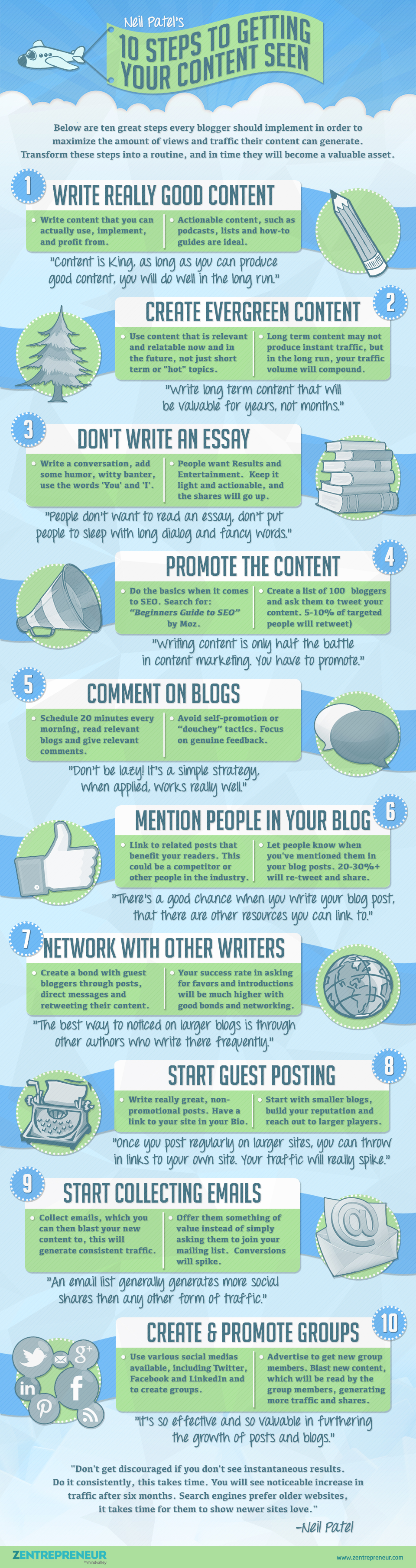 Make Your Content Stand Out Infographic