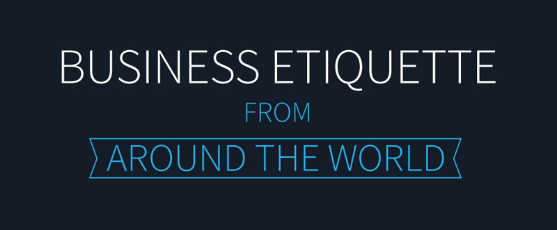 business etiquette around the world intro