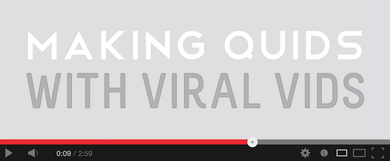 make money with viral videos intro