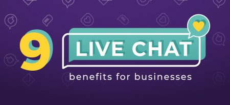 9 Live Chat Benefits for Businesses [Infographic]